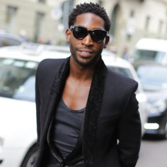 Tinie Tempah gets told off by his mum for 'acting up'