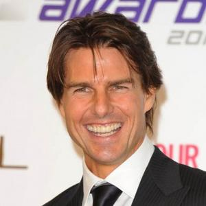 Tom Cruise Drives Red Bull Race Car