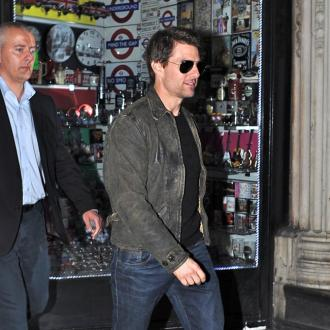 Tom Cruise Enjoys Night With Mystery Woman
