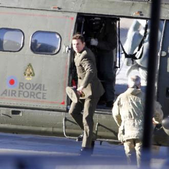 Tom Cruise Hires Luxury Helicopter While In London