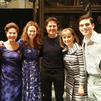 Tom Cruise Visits West End Musical