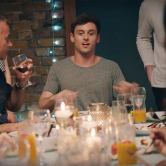Tom Daley's unplanned dinner parties