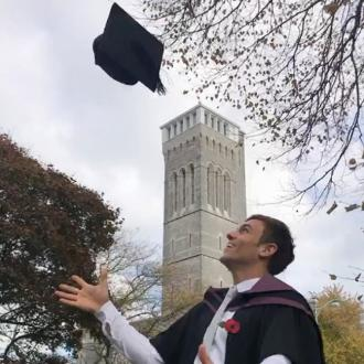 Tom Daley given honorary Master's degree