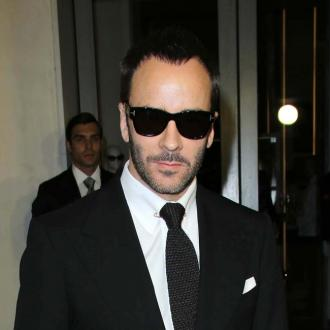 Tom Ford breaks taboo of male make-up