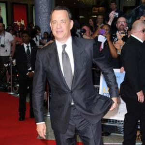 Upbeat Tom Hanks