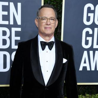Tom Hanks gets emotional at Golden Globes