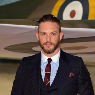 Tom Hardy writing rap album