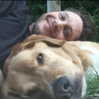 Tom Hardy's dog dies