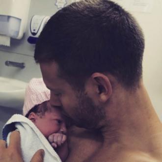 Tom Hopper  Is A Dad Again