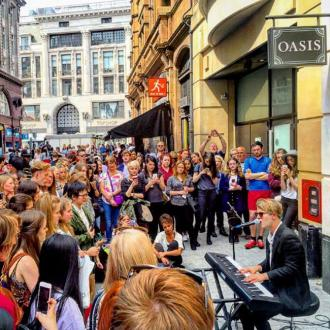 Tom Odell took up busking to promote his new album