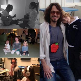 Chris Cornell's daughters pay tribute for Father's Day