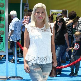 Tori Spelling's dog recovering after 'near death experience'