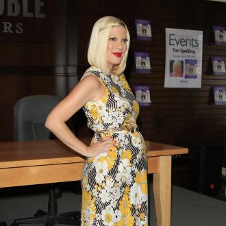 Tori Spelling Lied About Baby Weight Loss