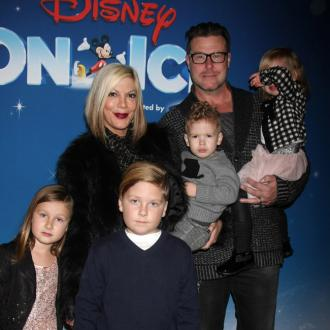 Tori Spelling Criticised For Motorcycle