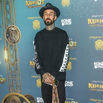 Travis Barker's car wrecked after crash