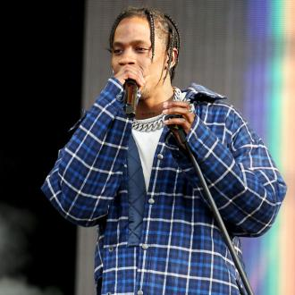 Travis Scott staying 'creative' in lockdown