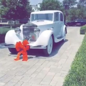 Travis Scott Gifts Rolls Royce To Kylie Jenner