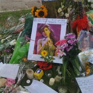 Mitch Visits Shrine To Late Amy Winehouse