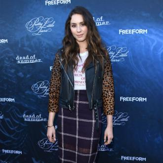 Troian Bellisario's mom guilt
