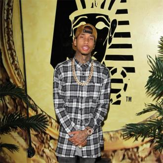 Tyga's Son Swears At School