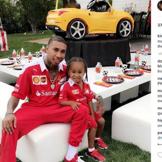 Kylie Jenner and Tyga throw King Cairo a Ferrari-themed birthday party
