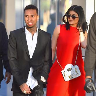 Tyga and Kylie Jenner visit children's hospital