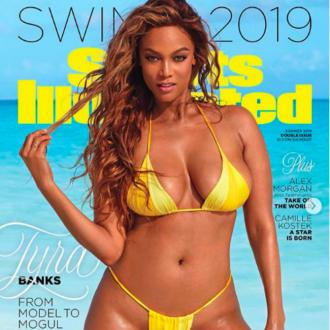 Tyra Banks 'Paid Homage' To 80s Supermodels In Sports Illustrated Shoot