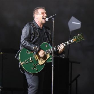 U2'S Bono Makes Up U2 Lyrics