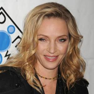 Uma Thurman Relaxed By Work
