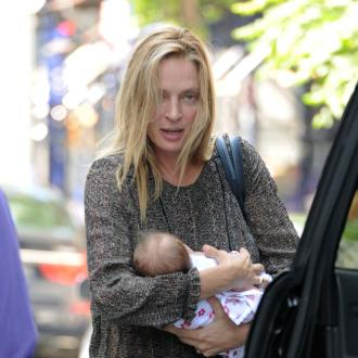 Uma Thurman Reveals Baby's Name