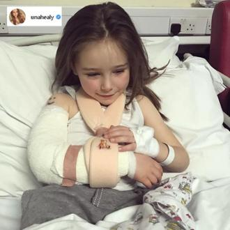 Una Healy's Daughter Hospitalised