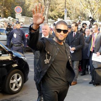 Usher's jewellery stolen