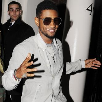 Usher Celebrates Birthday With Tom Cruise