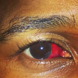 Usher beat up man?