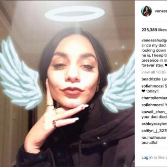 Vanessa Hudgens Shares Tribute To Father On Anniversary Of His Passing