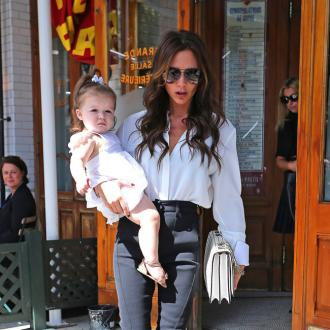 Harper Beckham Taking Dance Classes