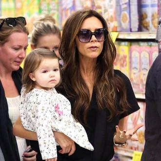 Victoria Beckham Loves Making Art With Harper