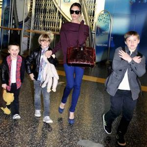 Victoria Beckham's Son Makes Late Night Calls