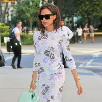 Victoria Beckham looks for the positive
