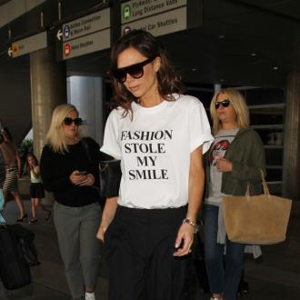 Victoria Beckham wears a 'bucket load' of concealer
