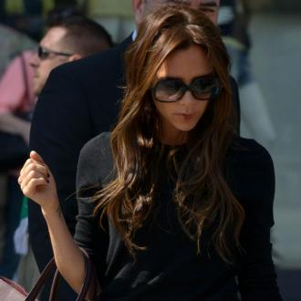 Victoria Beckham Works In The Nude