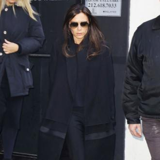 Victoria Beckham toasts 40th at spa
