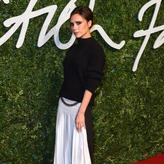 Victoria Beckham Gets Manicures With Harper Beckham