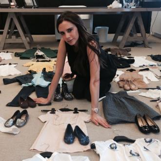 Victoria Beckham donates Harper's clothes