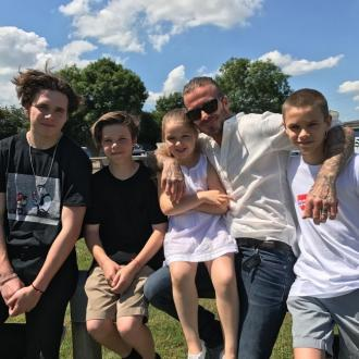 Victoria Beckham posts Father's Day tribute to David Beckham