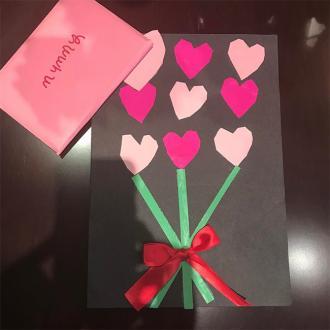 Victoria Beckham's Valentine's Day Card
