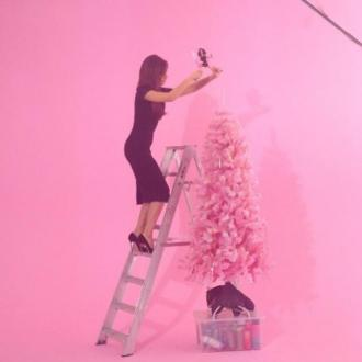 Victoria Beckham's 'Dangerous' Christmas Decorating