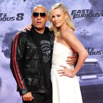 Vin Diesel was 'not complaining' when he kissed Charlize Theron