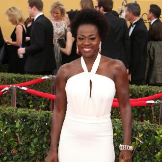 Viola Davis had to forage for food