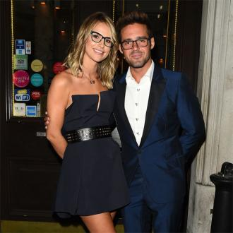 Vogue Williams' son injures toe on vacation